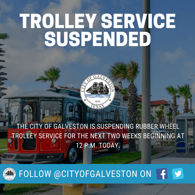 Trolley service suspended