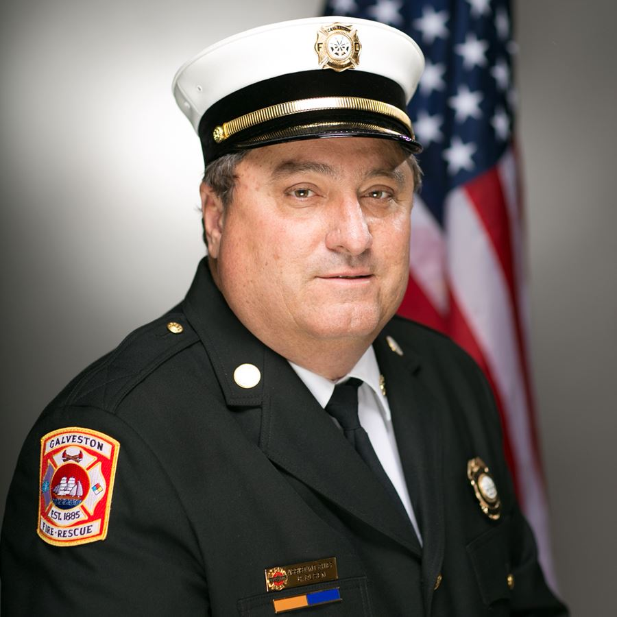Photo of Asst. Chief Olsen