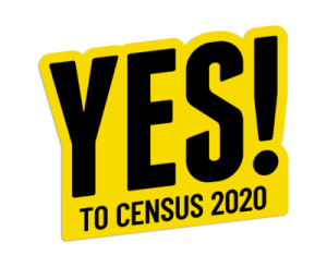 United Way Galveston Yes to Census Logo Opens in new window