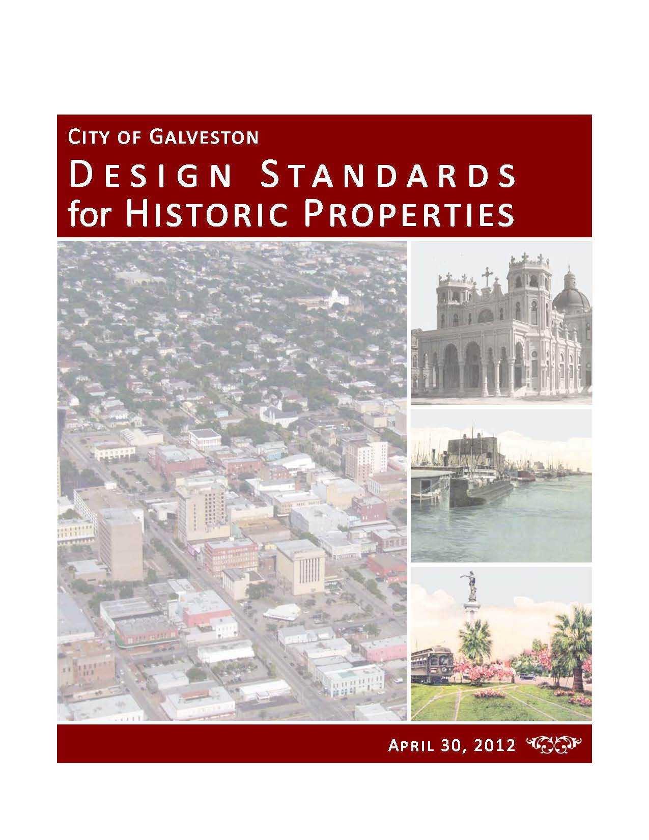 Design Standards for Historic Properties Cover