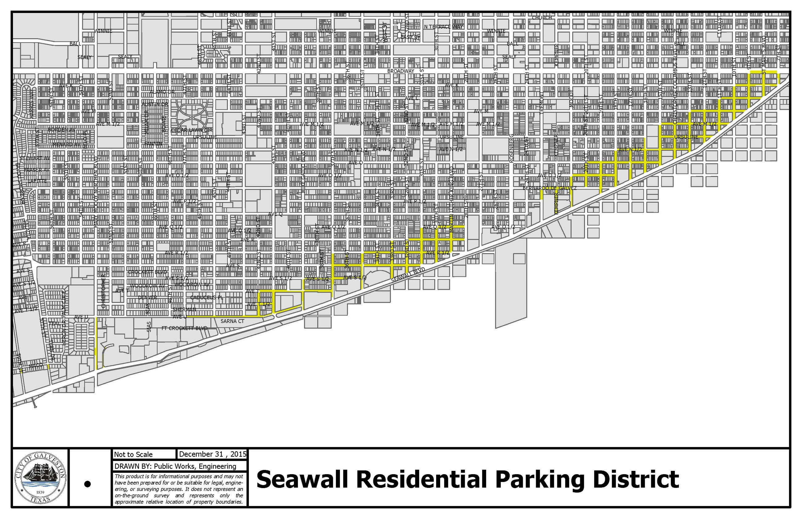 Seawall Res Parking District